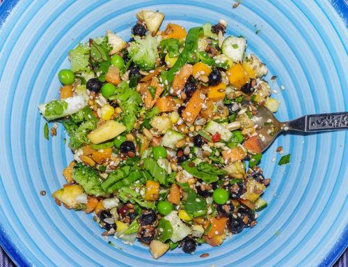Frischer Salat aus Sprossen – beliebte Rezepte aus dem Internet.