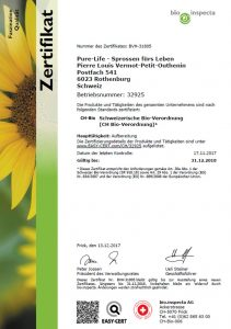 Bio-Zertifika Pure-Life